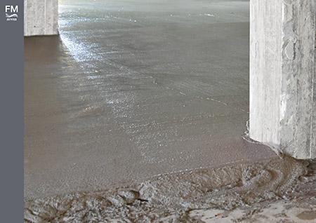 מוצרים המשמשים כתשתית לריצוף ולחיפוי רצפה