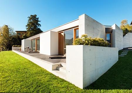 בטון אדריכלי גלוי/חשוף במגוון צבעים